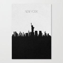 City Skylines: New York City Canvas Print