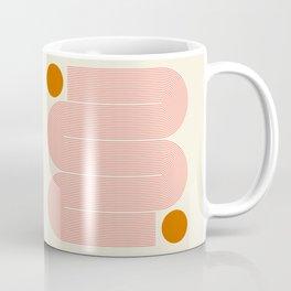Abstraction_SUN_LINE_ART_Minimalism_002 Coffee Mug