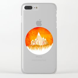 Sunny Nature Clear iPhone Case