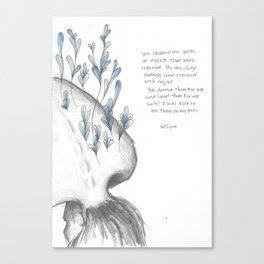 You Showed Me  Canvas Print