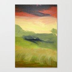 Fields of Grain Canvas Print