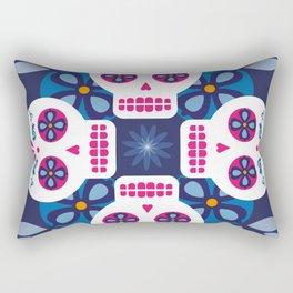 Talavera Blue Rectangular Pillow