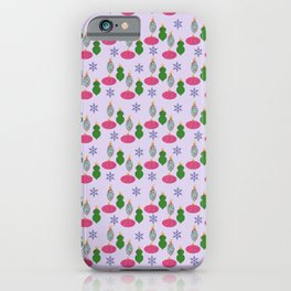 Cheery Christmas Ornaments  iPhone Case