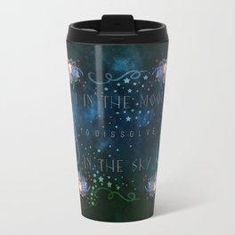 Dissolve in the sky Travel Mug