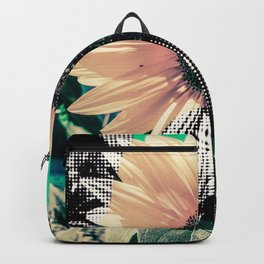 Popart sunflower Backpack