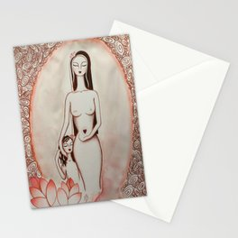 Ninfea * Lotus Flower Stationery Cards