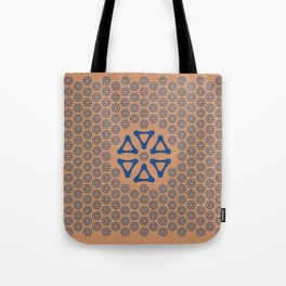Hexagonal Point Tote Bag