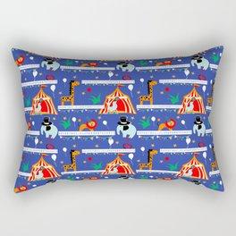 Animals alphabet blue Rectangular Pillow