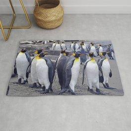 King Penguin Huddle Rug