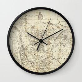 Territory of Minnesota Map (1849) Wall Clock