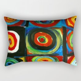 Color Study Rectangular Pillow