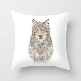 Wolven Way Throw Pillow
