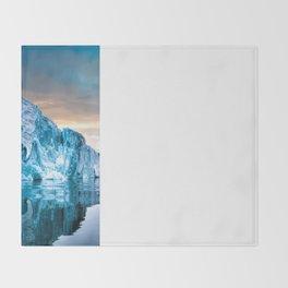 Alaska Glacier Throw Blanket