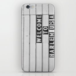 Welcome to Harlem iPhone Skin
