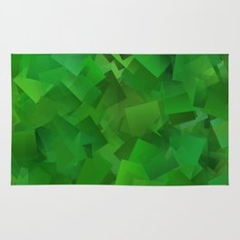 Cubed grass ... Rug