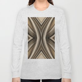98 - Sepia paper abstract Long Sleeve T-shirt