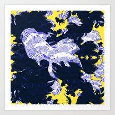 FISH PARADISE v2 Art Print