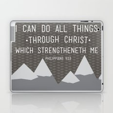 I CAN // Philippians 4:13 Laptop & iPad Skin