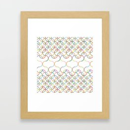 Hearts .light Framed Art Print