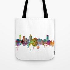 Montreal Canada Skyline Tote Bag