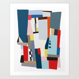 paper soldier 1 Art Print