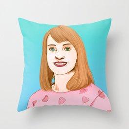 Anne Throw Pillow