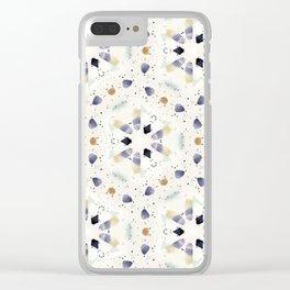 Spot Geom Clear iPhone Case