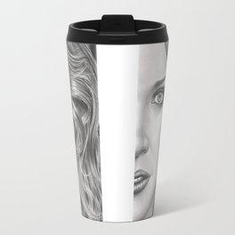 Half Portrait Travel Mug