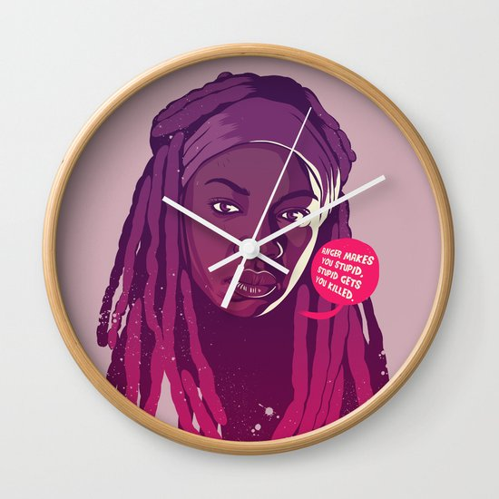 THE WALKING DEAD - Michonne Wall Clock