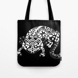Black Ajolote Tote Bag