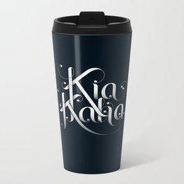 Kia Kaha Metal Travel Mug