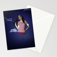 Late night fairy tale dreams Stationery Cards