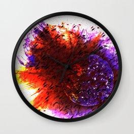 Solar Explosion Wall Clock