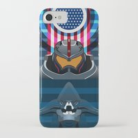 pacific rim iPhone & iPod Cases featuring Pacific Rim, Jaws edition by milanova