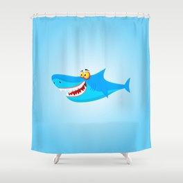 Great White(ish) Shower Curtain