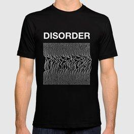 Disorder. A Joy Division/Peter Saville tribute. T-shirt