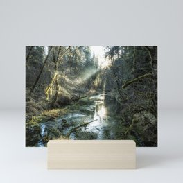 McKenzie River Tributary Mini Art Print