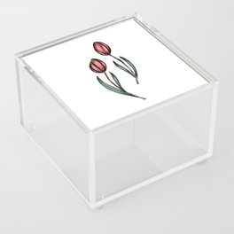 Tulips Acrylic Box