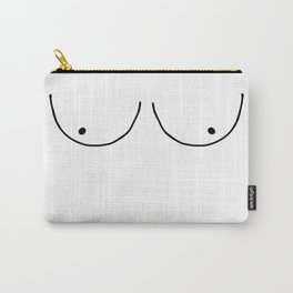 b&w boobs Carry-All Pouch