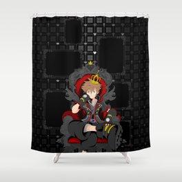 Kingdom Hearts 3 - Sora - Ultimania Shower Curtain