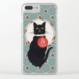 The Black Cat (Issue 8, May 1896) Clear iPhone Case