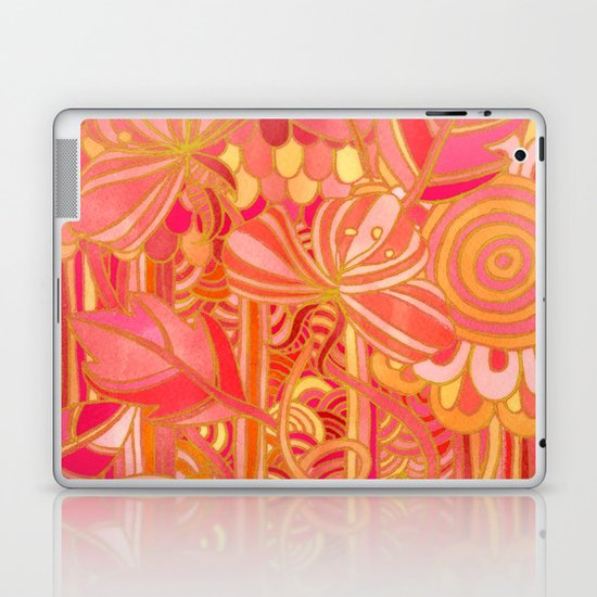 Drawn into the Garden Laptop & iPad Skin