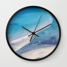 Northern beach Wall Clock