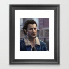 Sam Drake Framed Art Print