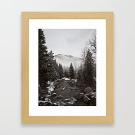 Mid Winter Framed Art Print