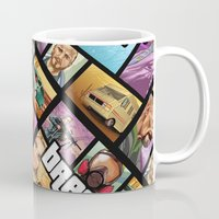 gta Mugs featuring Breaking Bad: GTA  by Messypandas