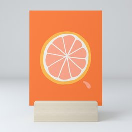 Grapefruit Slice Mini Art Print