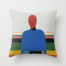 MANWOMAN Throw Pillow