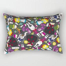 Alice in dance Rectangular Pillow