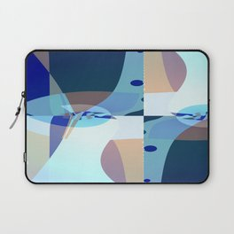 Abstract Fractal Art - Quistere- Cubism- Picasso Art Laptop Sleeve